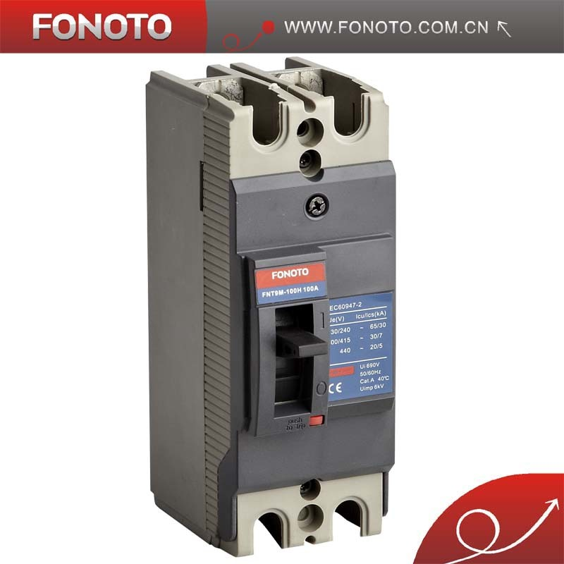 China 50a 2poles Mccb China Moulded Case Circuit Breaker