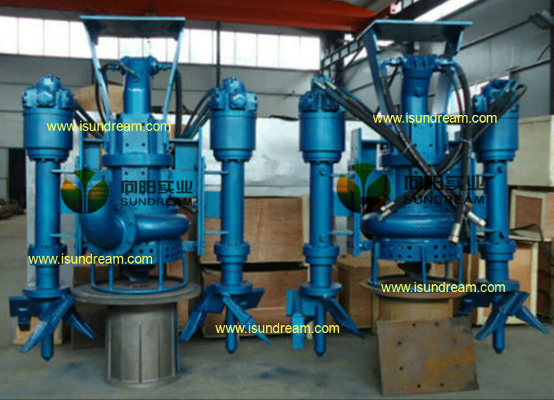 China vertical submersible hydraulic motor dredging pump for Submersible hydraulic pump motor