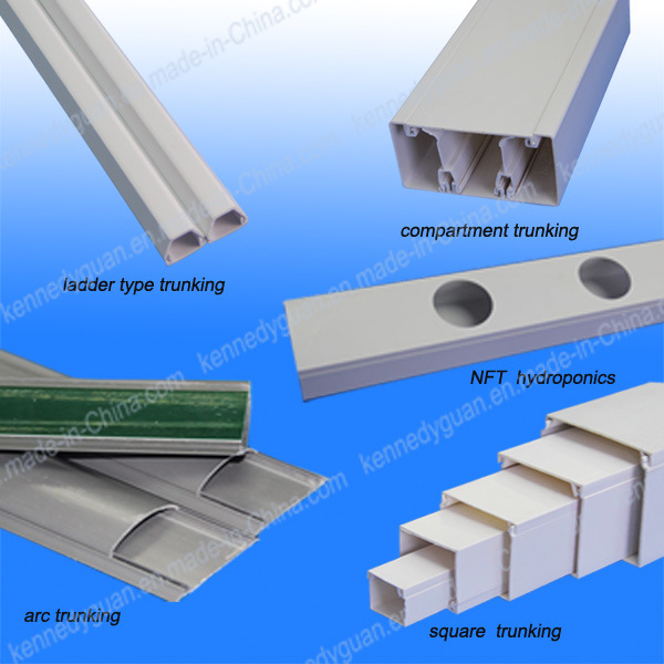 Full Size Electrical PVC Trunking