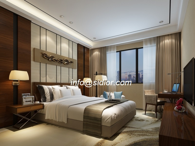 Cl8006 Luxury Hotel Modern Bedroom Furniture