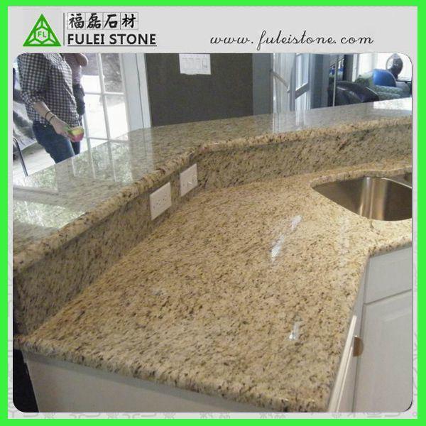 Ornamental natural de giallo del granito del precio for Precio del granito por metro
