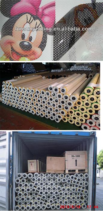 Pvc Windows Tanzania : China windows graphics perforated vinyl one way vision