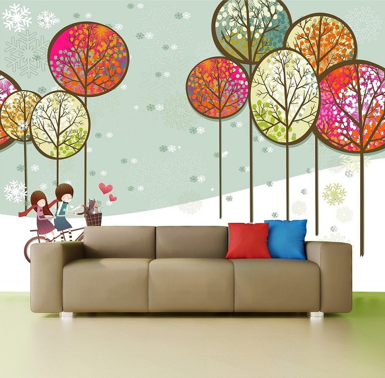 China wall murals china digital print wallpaper inkjet for Digital print mural