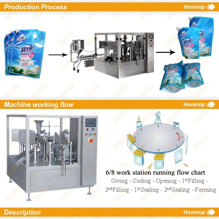 Liquid Packaging Machine for Olive