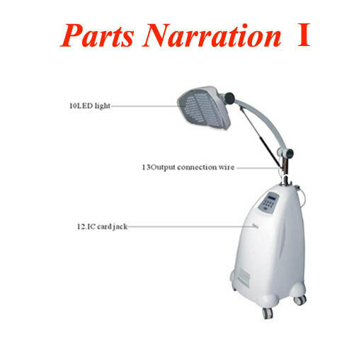 China professional led light infrared photon pdt skin for Aaina beauty salon electronic city