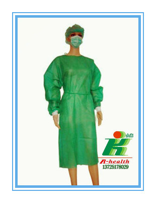 China Surgical Gown Disposabe Medical Gown Smock China