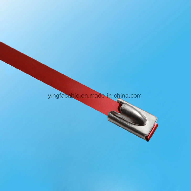 Heavy Duty 304 316 Stainless Steel Metal Cable Tie with Roll Ball Locking