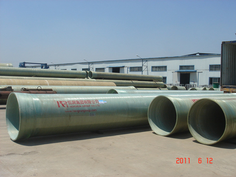 China best quality pultrusion frp fiberglass round pipe