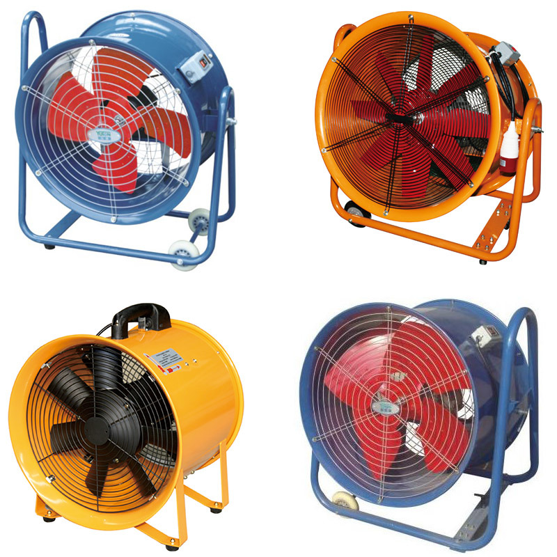 Axial Flow Fans : China moveable exjaist axial flow fan blower