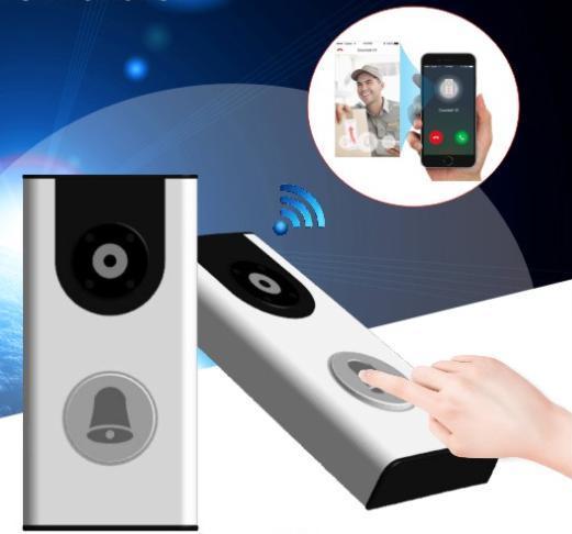 Wireless Video Door Bell WiFi Video Door Phone
