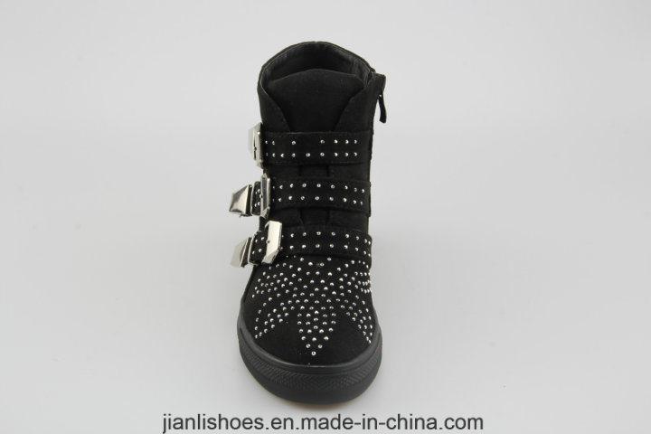 2018 Phụ nữ cổ điển khóa giày thể thao Giày dép Giày dép với Hoa trang trí (SN507)