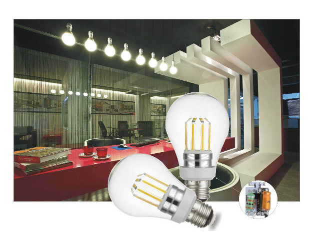 High Lumen Octopus E27 E26 B22 6W 8W Filament LED Bulb Light