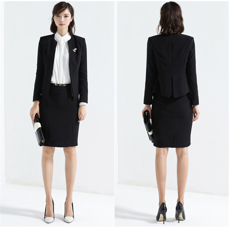 China Made to Measure Ladies Pencil Skirt Suit Women′s Formal Suit ...