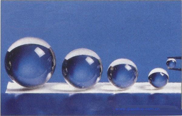 China mm solid glass balls