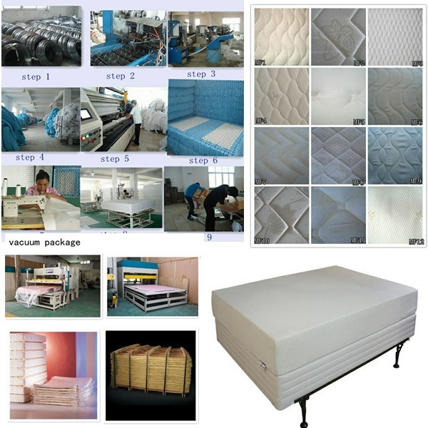 Natural Latex Hotel Mattress with Pocket Spring Rh055