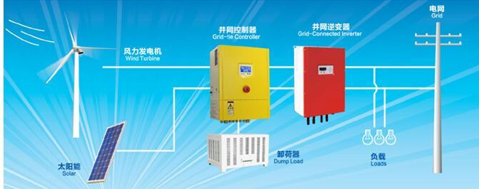3kw To5kw on Grid Pure Sine Wave Wind Solar Inverter