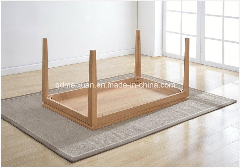 Mesa de comedor de madera de roble de estilo europeo con - Precio madera de roble ...