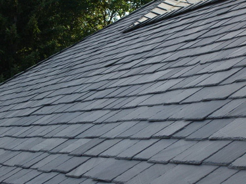 Chinese Natural Grey Black Culture Slate Tile Roof Tile