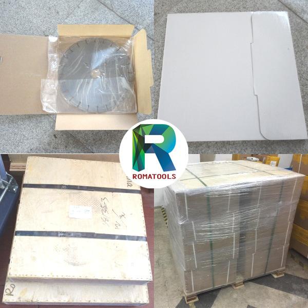 Romatools Diamond Saw Blades for Reinforced Concrete