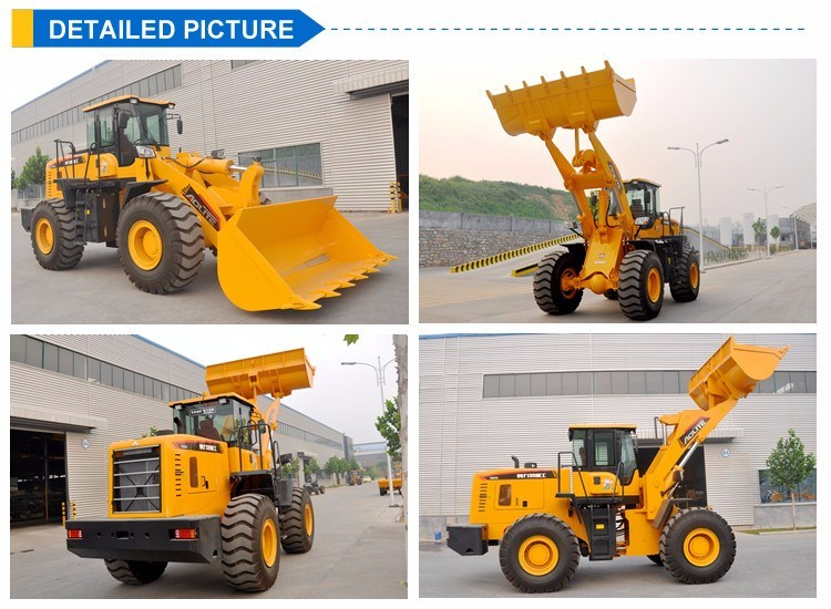5ton Wheel Loader 650 China Low Price Wheel Loader
