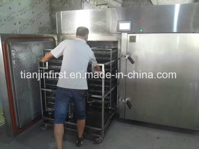 Shrimp Liquid Nitrogen Quick-Freezing/Cooling Machine
