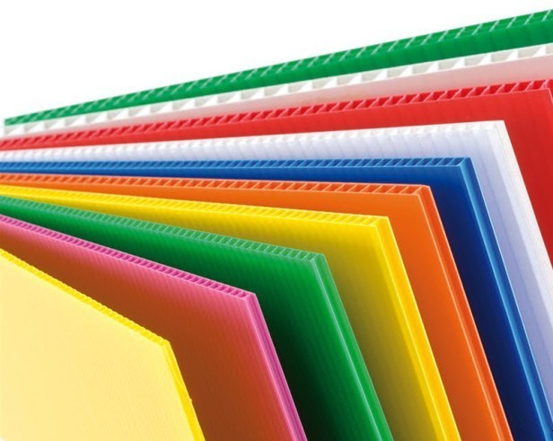 China Corrugated Plastic 4 8 Pp Sheet For Mexico Market