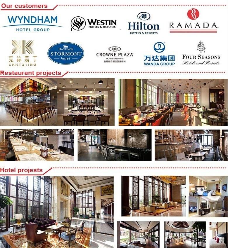 (SD-5002) Modern Hotel Restaurant Living Room Furniture Glass Coffee Table