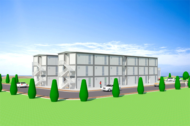 Underground Container Homes Plans 650 x 433