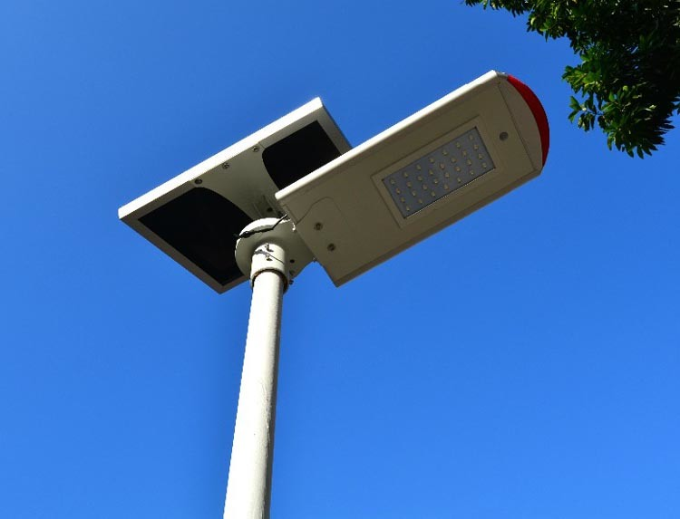 Smart Bluetooth 40W Integrated Solar LED Road Garden Street Light