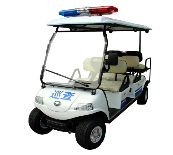 China Electric Vehicle Utility Cart Electric Patrol Car
