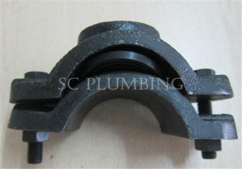 Sela clamp para pvc pipe gray cast iron