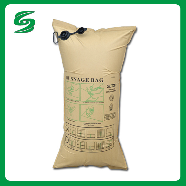 Ppwoven and Kraft Paper Dunnage Air Bags Factory Appect OEM Order