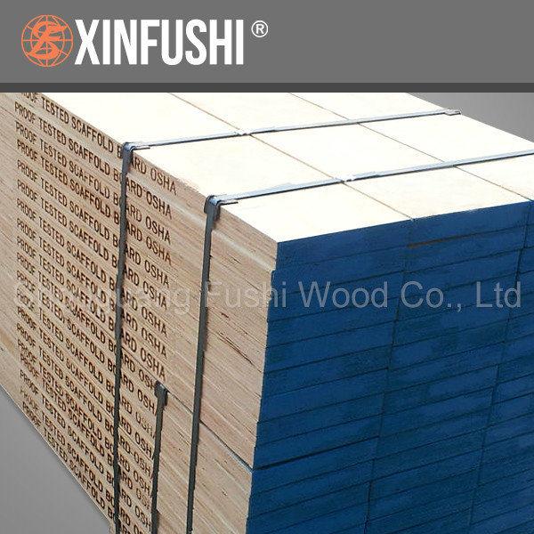 China osha laminated pine lvl scaffold plank