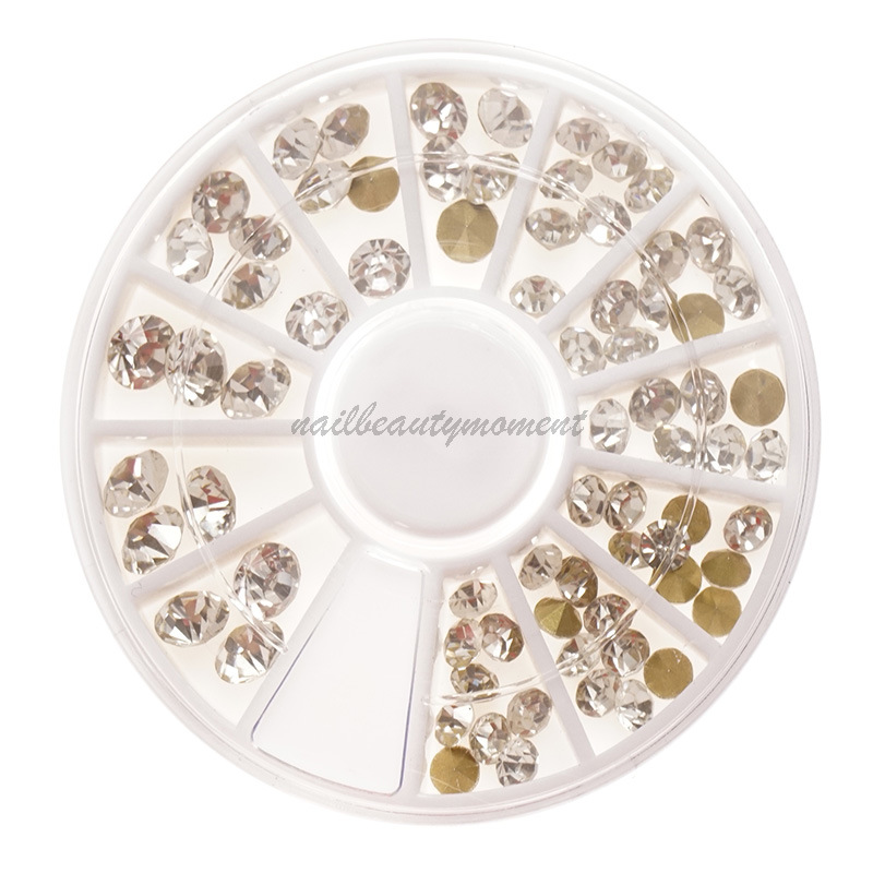 Nail Art Beauty Crystal Rhinestone Decoration Gem Manicure (D77)