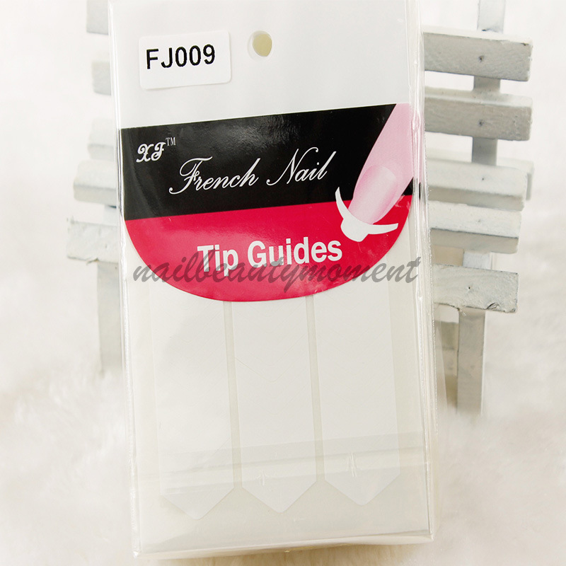 Nail Art French Tip Guides Sticker in Different Designs (NPP03)