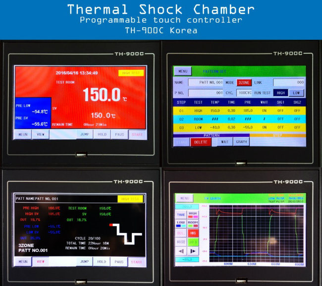 China Factory Machinery Supplying Fast Temperature Change Thermal Shock Test Chamber