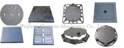 OEM Hot Sale Double Seal Manhole Coverl/Iron Drain Cover