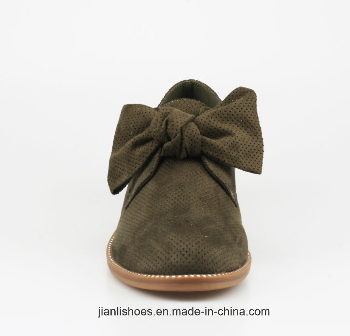 2018 Classic England Style Casual Shoes with Bowknot Decoration (OX55)