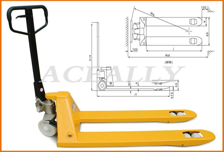 инструкция Hand Pallet Truck на русском - фото 4