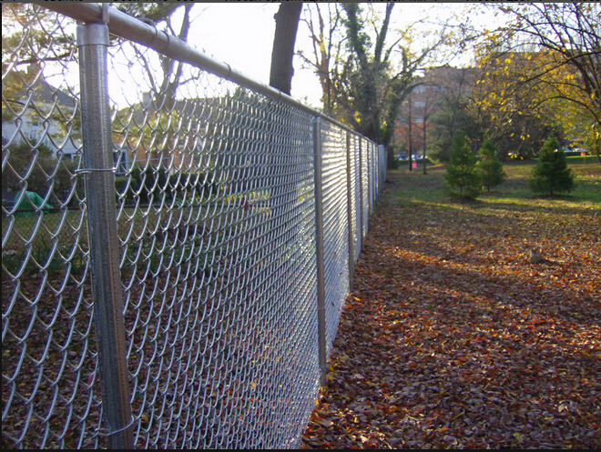 Chain Link Fence/Chain Link Fencing - PVC Coated or Galvanized with ISO Approved