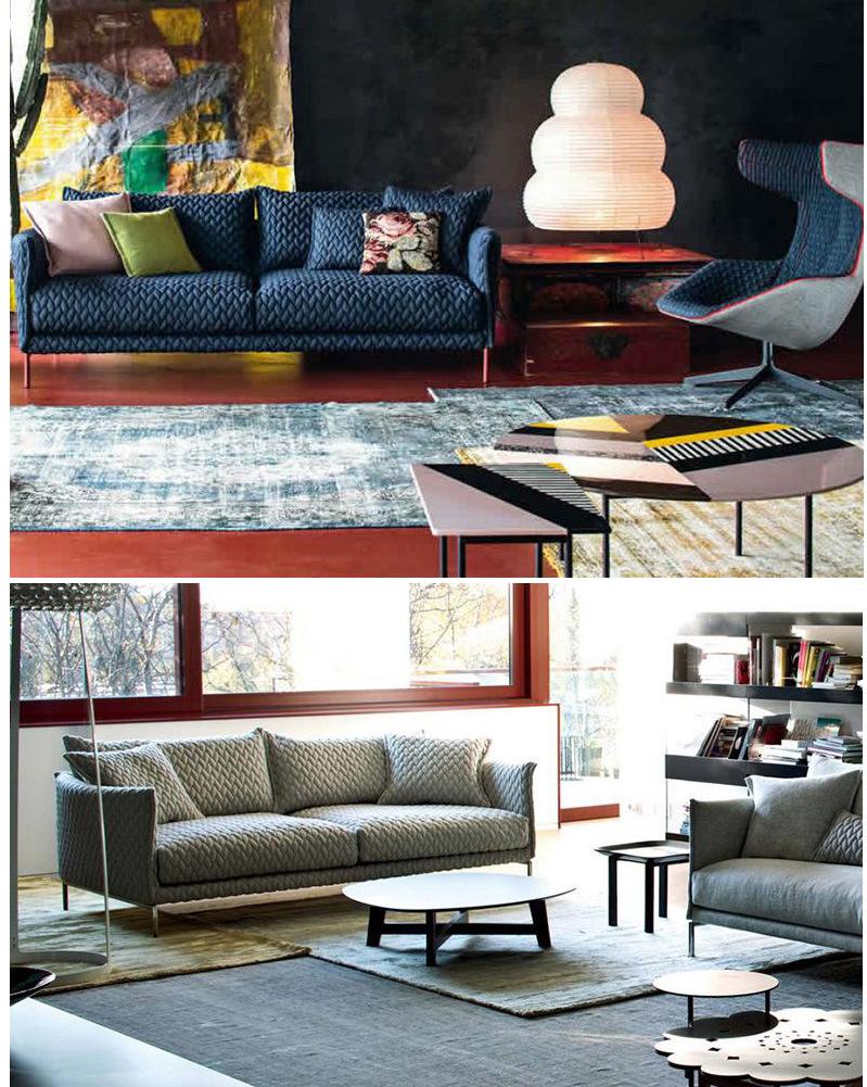 Sof moderno popolare del tessuto 2017 per la mobilia for Zurich mobilia domestica