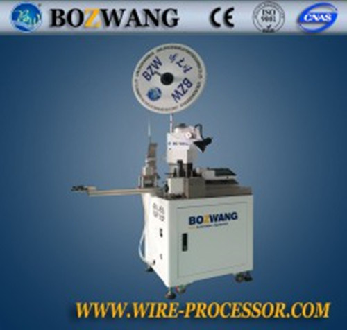 full automatic 2 pin flat wire terminal crimping machine full automatic 2 pin flat wire terminal crimping machine wire harness processing machine