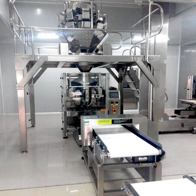 Chaîne de production de frites / Machines pour frites surgelées / Machine pour frites