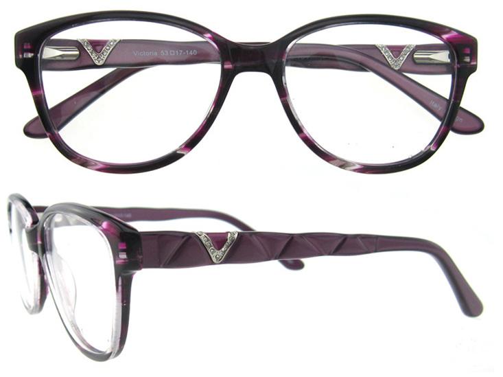 Best Glasses Frame Design : China Latest Design Girls Top Acetate Eyeglasses Frames ...