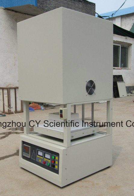 China 1400c Bottom Lift Furnace Bottom Loading Glass