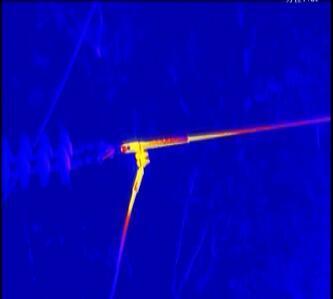 Lightweight Gyro Stabilised Eo IR Thermal Imaging Gimbal Camera