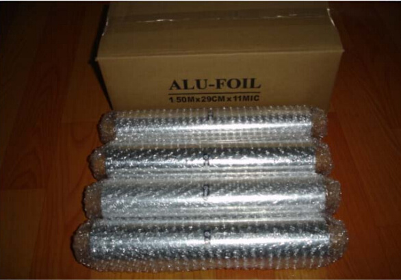 Household Aluminum Foil Small Roll for Kitchen Usage