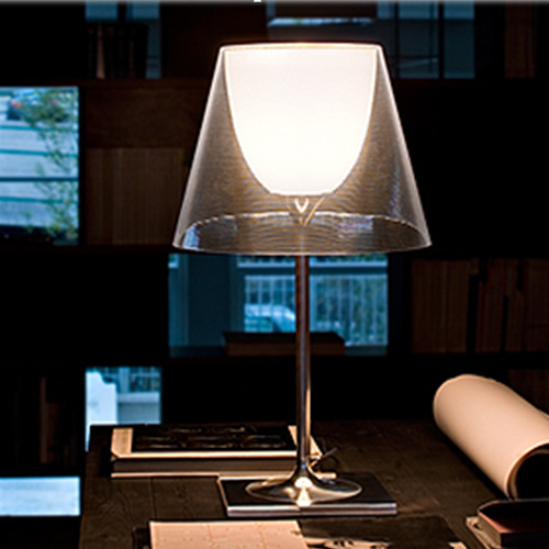china very fashion hotel project modern table lamp with acry