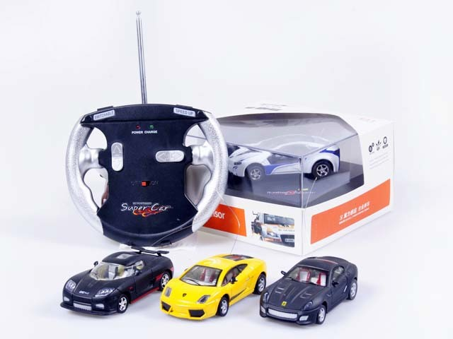 how to build rc car from die cast model