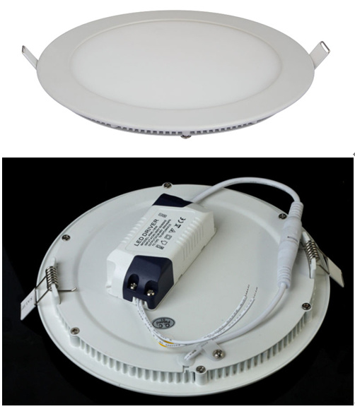 Ultra-Slim Round LED Panel (Blister pack)